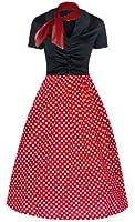 Lindy Bop Women's Elsa Classy 1950's Rockabilly Swing Jive Shirt