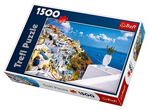 Puzzle Santorini, Grecja 1500