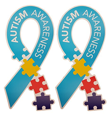Autism Awareness Ribbon Yard Sign Set of 10 Package w/ EZ ...