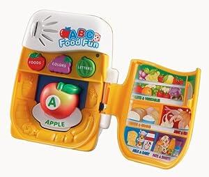 Amazon.com: VTech ABC Food Fun 26 Magnets: Toys & Games