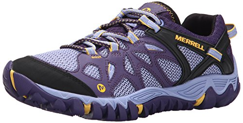 Merrell Women's All Out Blaze Aero Sport Hiking Water Shoe,Parachute Purple,7.5 M US