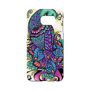 BLUEDIO Designer 3D Printed Back case cover for Samsung Galaxy S6 Edge Plus - G1377