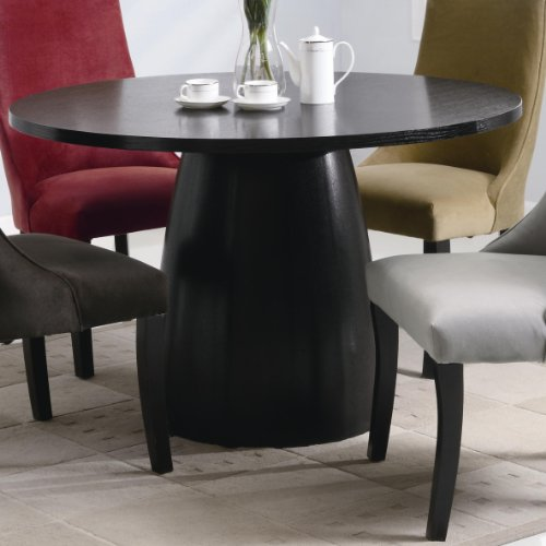 Single pedestal round dining table kitchen tables for sale cheap