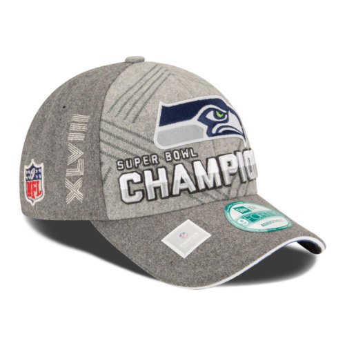 Seattle Seahawks New Era NFL Super Bowl XLVIII Locker Room Champ Cap at Amazon.com