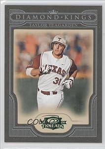 Taylor Teagarden #6 25 Texas Rangers (Trading Card) 2008 Donruss Threads Diamond... by Donruss Threads
