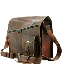Leather World Ltd . Mens Satchel Vintage Leather Messenger Bag Brown Handmade Shoulder Best Laptop Cross Body Best Sling Bag