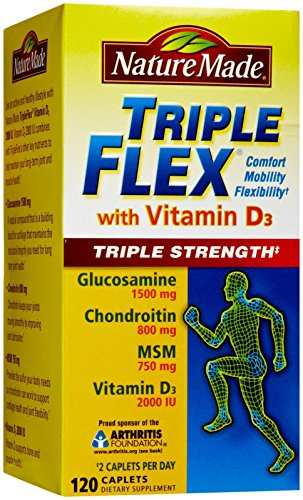 Nature Made Tripleflex Triple Strength with Vitamin D, 120-Count балетки instreet балетки