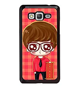 iFasho Crazy Boy Back Case Cover for Samsung Galaxy Grand Prime