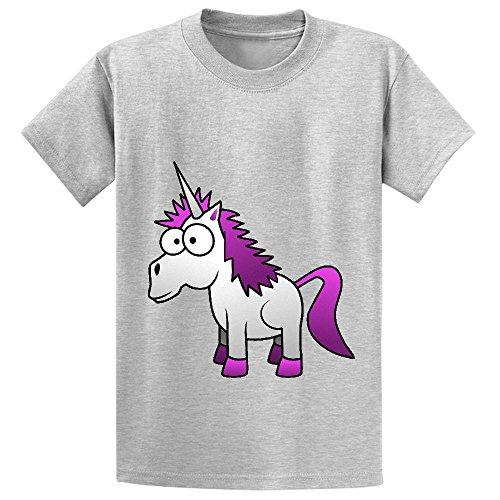 andy-unicorn-cute-child-crew-neck-cotton-t-shirts-grey