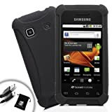 Sleek Impact-Resistant Protective Case for Boost Mobile Samsung Galaxy Prevail Android SmartPhones ** Includes Micro-USB Charge Cable and Accessory Bag**
