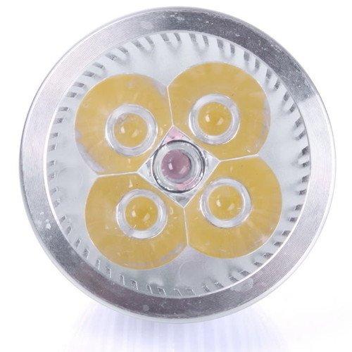 4 Led Mr16 4W 12V Cool White Spot Light Bulb Lamp Spotlight Focus Downlight T7