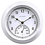AcuRite Clock with Thermometer 13.5
