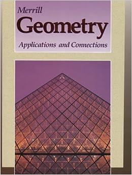 Merrill Geometry: Geometry by Glencoe McGraw-Hill (2011, Hardcover)