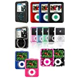 3rd Generation iPod Nano 4gb 8gb Video Crystal Carrying Case with LCD Screen Shield - 36 Choices (MP3 Player NOT Included) ~ PCMicroStore