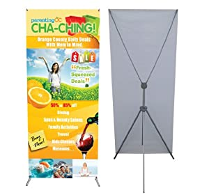 Adjustable Banner Stand Large