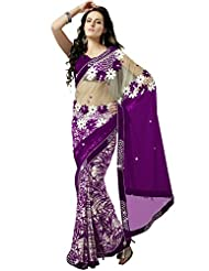 CSE Bazaar Women Indian Saree Beautiful Fancy Ethnic Cultural Party Wear Sari - B00SO6MCBW