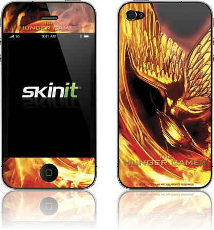 Skinit The Hunger Games Mockingjay Vinyl Skin for Apple iPhone 4 / 4S