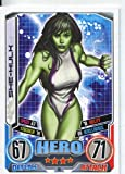 Marvel Hero Attax Series 2 Common Card #98 She Hulk