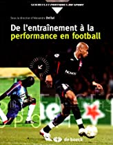 De l'entraînement à la performance en football