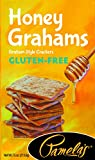 Pamela's Products Gluten Free Graham Crackers, Honey, 6 Count