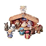Fisher Price Deluxe Little People Christmas Nativity Story Playset