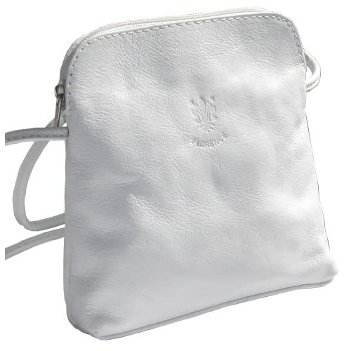 Genuine Italian Soft Leather, Small Micro Cross Body or Shoulder Bag Handbag. Includes Protective Storage Bag.