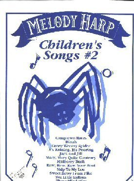 MELODY HARP Childrens Songs #2 from Trophy Music - 1