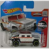 Humvee Hot Wheels 2016 Hw Rescue Series White Hummer 1:64 Scale Collectible Die Cast Metal Toy Car Model #8/10...