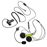 Full Helmet Motorcycle KENWOOD Radio 2 Pin Earpiece (Pentagon-Headsets Variations)