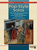 Strictly Strings Pop-Style Solos (0739000055) by Bach