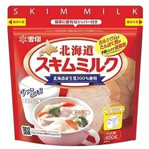 雪印 北海道スキムミルク450