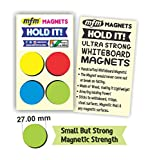 MFM Magnets HOLD IT! | Handcrafted Strong Whiteboard Magnets