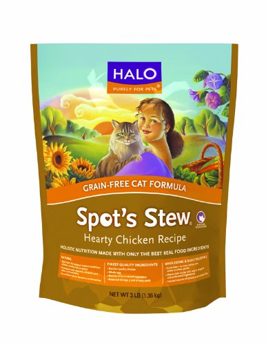 Natural Dry Grain-Free Cat Food, Wholesome Chicken - 6-Pound Bag