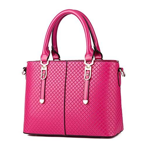koson-man-damen-sling-vintage-tote-taschen-top-griff-handtasche-pink-rosarot-kmukhb289