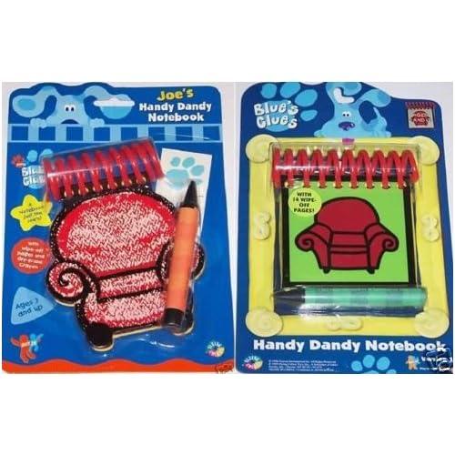 Amazon.com: Blue's Clues Handy Dandy Steve/Joe Notebook ...