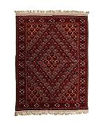 CarpeTrade Alfombra Royal Beshir (Rojo/Multicolor)