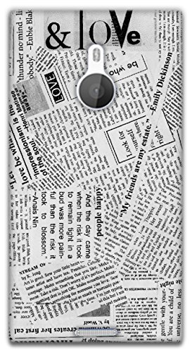 The Racoon Lean Good News hard plastic printed back case / cover for Nokia Lumia 1520  available at amazon for Rs.99