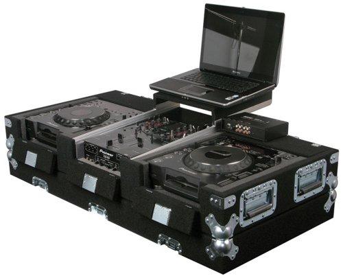 "Odyssey Cgs10Cdj 2 Cd Players/ 10"" Mixer Case Table Top10 Inch Dj Mixer Coffin"
