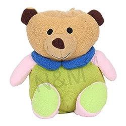 N&M Soft & Cute Teddy Bottle Cover (0+Months) Feeding Bottle 50ml to 500ml