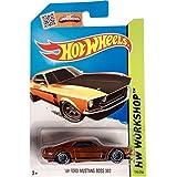 2015 Hot Wheels Super Treasure Hunt Hw Workshop 69 Ford Mustang Boss 302