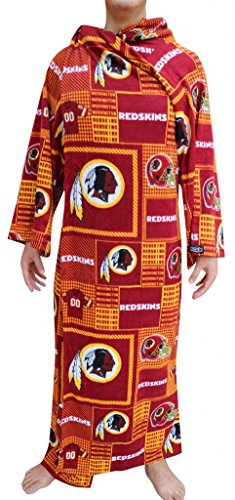 Washington Red Skins NFL Computer Blanket folds into Couch Pillow