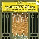 Beethoven : Symphonies n� 7 et n� 8
