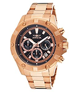 Invicta Men's 15607 Specialty Analog Display Japanese Quartz Rose Gold Watch