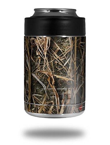 WraptorCamo Grassy Marsh Camo - Decal Style Skin Wrap fits Yeti Rambler Colster and RTIC Can (COOLER NOT INCLUDED) (Camo Wrap For Yeti Cooler compare prices)