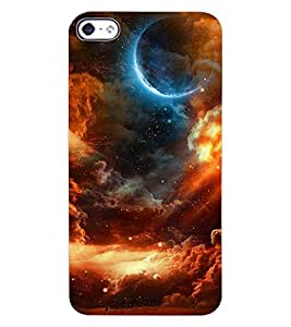 ColourCraft Lovely Night Vision Design Back Case Cover for APPLE IPHONE 4S