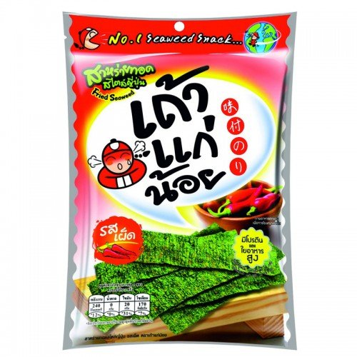 Tao Kae Noi Fried seaweed, Spicy Flavor Japanese Style 32 g (Zojirushi Food Jar Kids compare prices)