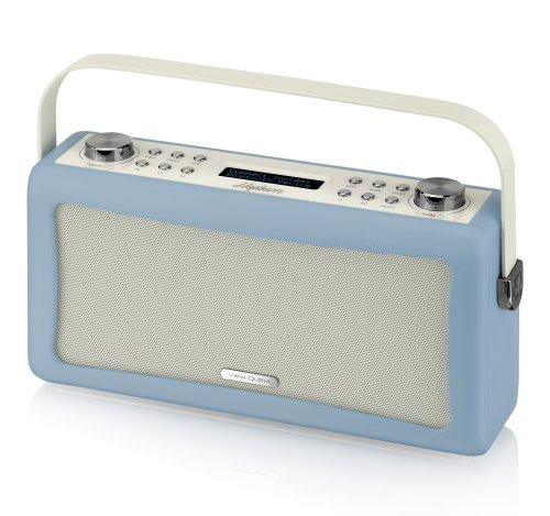 View Quest Hepburn Bluetooth Audio System with DAB+ Radio - Blue
