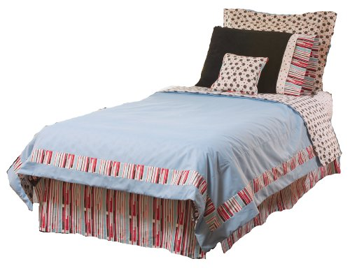 Thank You Baby 4 Piece Full Comforter Set, Madison Boy - 1