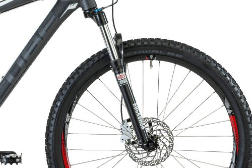 Cube Analog 26 Disc grey/white (2013) (Frame size: 55.9 cm) hardtail mountain bike