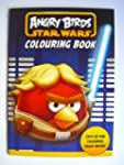 ANGRY BIRDS Star Wars A4 Colouring Book